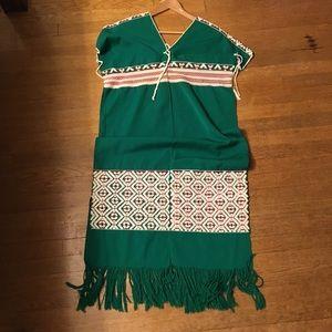 Dresses & Skirts - Vintage dress 💚❤️